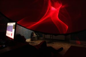 lux-aeterna-theatre-3-m-laser-dome-at-international-seminar-for-optics-2015