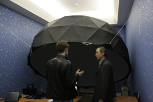 lux-aeterna-theatre-3-m-laser-dome-at-international-seminar-for-optics-2015-discussions